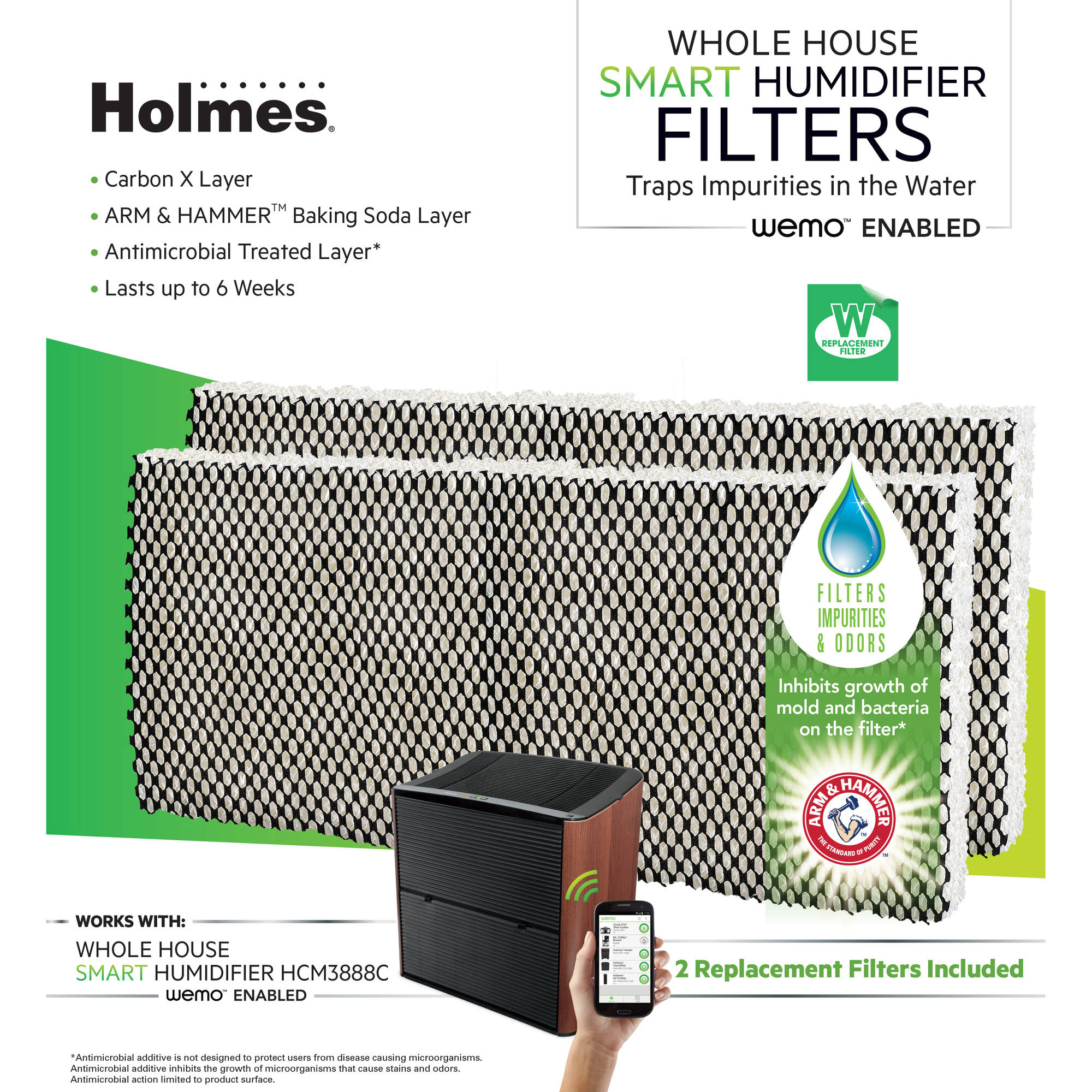 Holmes HWF80-U WeMo Whole House Smart Humidifier Filter