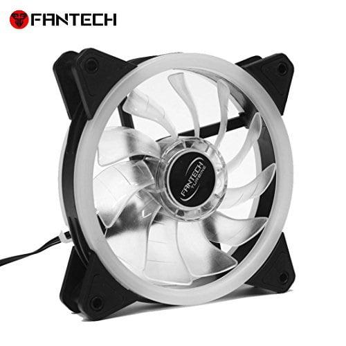 Fantech Fc 124 Pc Desktop Tower Computer Fan Case Cooling Fan Unit