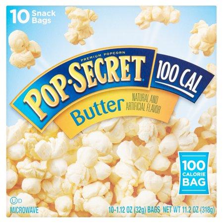 Pop Secret 100 Cal Butter Snack Bags   10 Ct