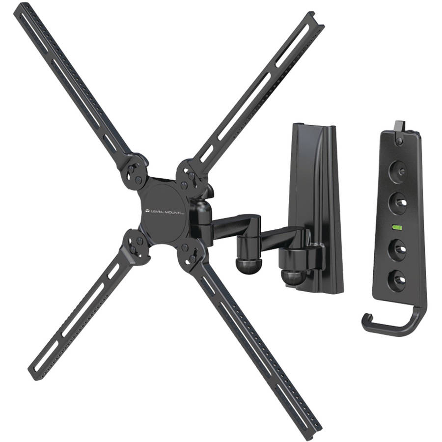 Level Mount by Elexa DC37DJ Full-Motion Dual Arm TV Mount
