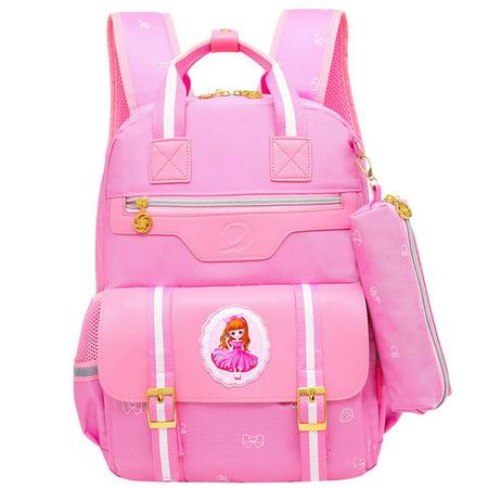 2018 New Children School Bags orthopedic school backpack for boys girls waterproof school satchel kids schoolbag bookbag mochila ()