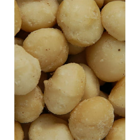 BAYSIDE CANDY MACADAMIA NUTS ROASTED SALTED, 1LB