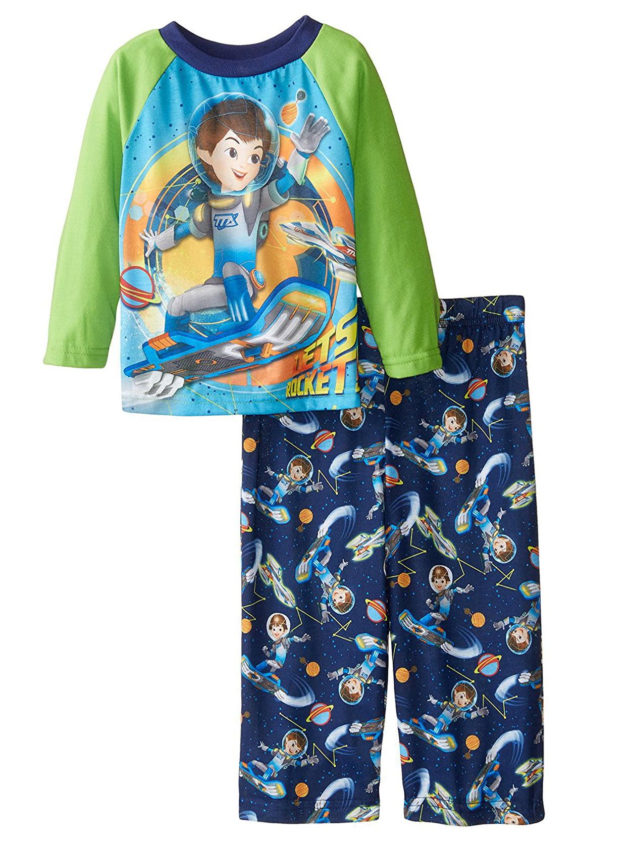 Miles From Tomorrowland Boys Poly Pajama set 21WT002ELL