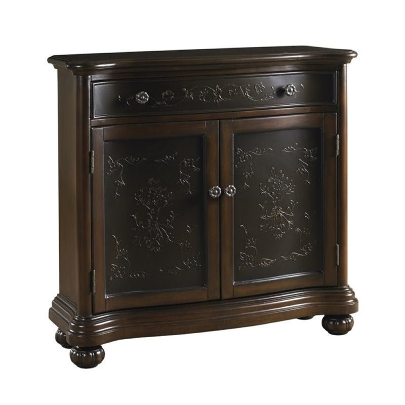 Bowery Hill Accent Chest in Brown