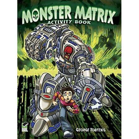 Monster Matrix Activity Book - Monster High Activity Journal