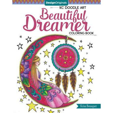 Kc Doodle Art Beautiful Dreamer Coloring Book ()