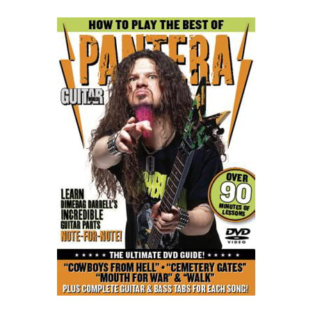Guitar World: Guitar World: How to Play the Best of Pantera: The Ultimate DVD Guide (Best Toys In The World)