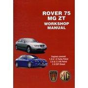 Rover 75 & MG ZT Workshop Manual (Workshop Manuals) (Paperback)