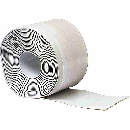 M-D Products 93203 White Cove Wall Base Vinyl Rolls, 4' x 20'