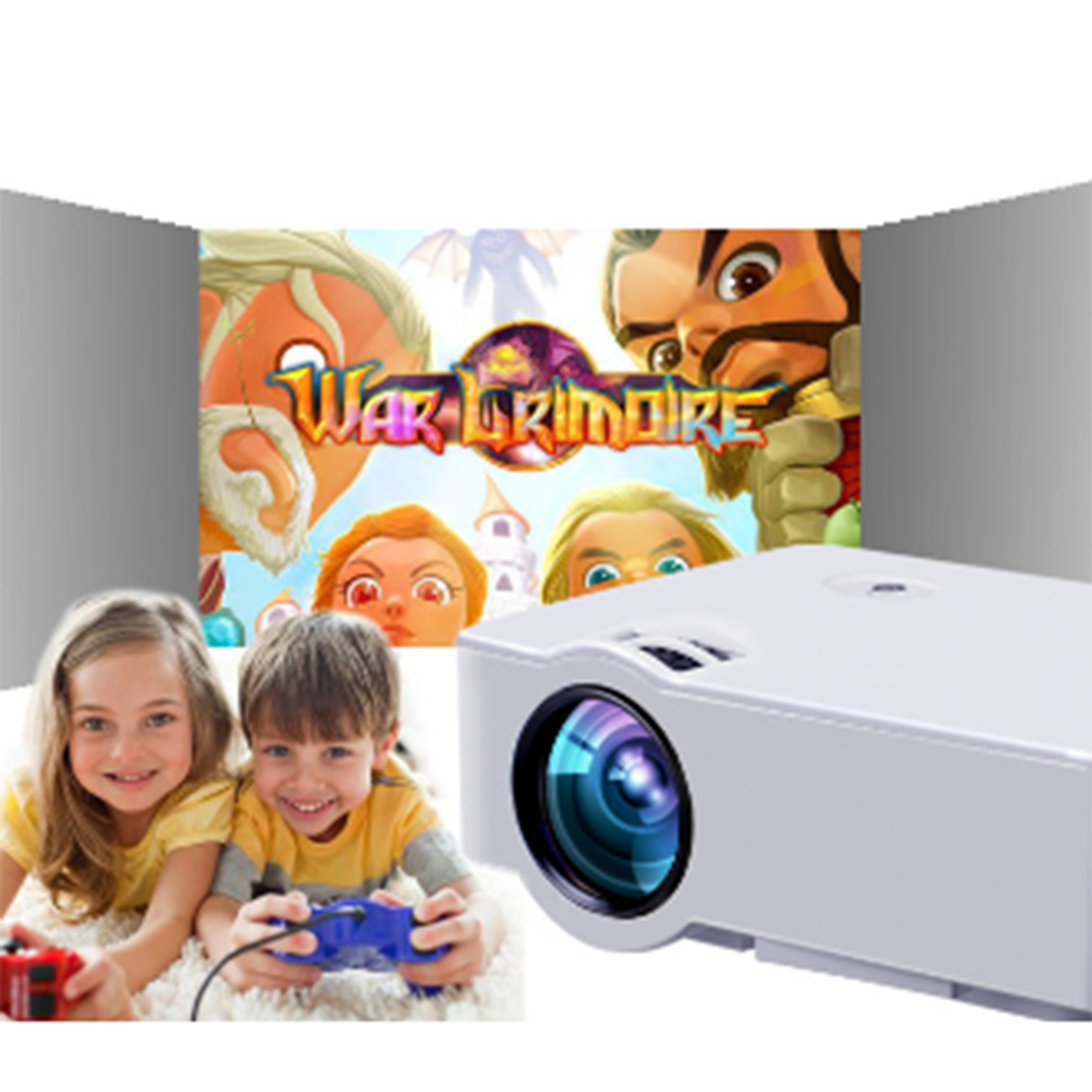 Multimedia Cinema LED HD Technology Projector LCD Support Phone AV/USB/HDMI/TF/AUDIO Home Theater Video E08s