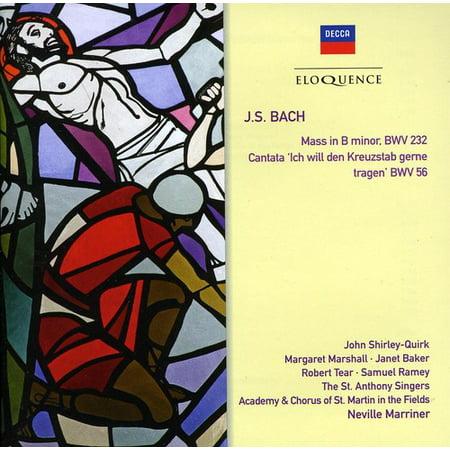 Bach J.S: Mass in B minor / Cantata BWV 56 (CD)