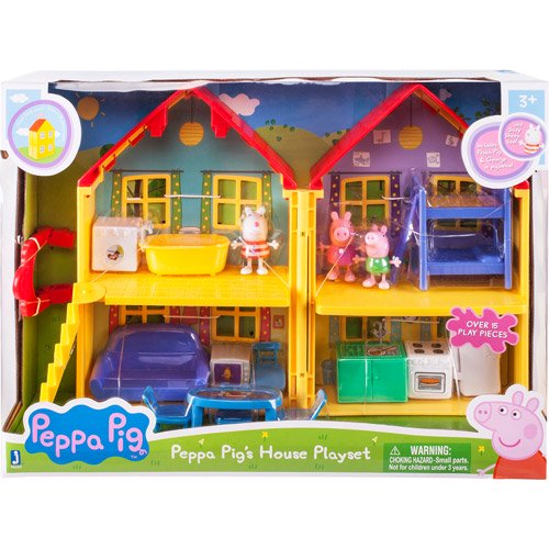 Peppa Pig Peppa S Deluxe House Play Set