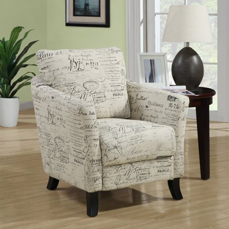 Monarch Curved Back Fabric Club Chair Vintage French