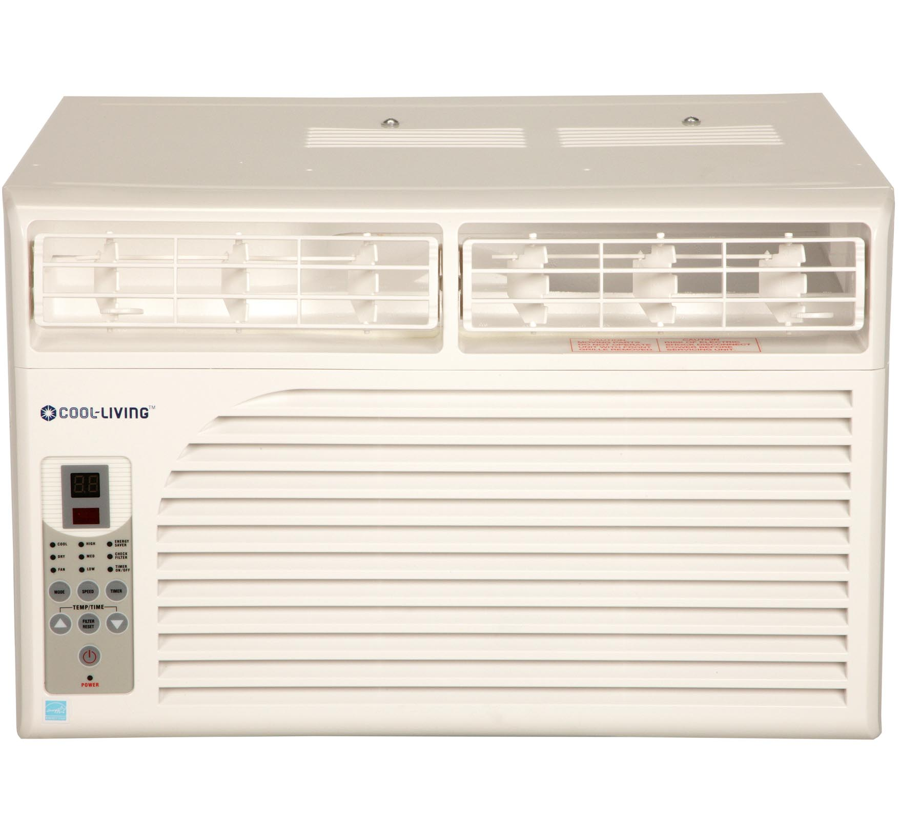 Cool Living 15,000-BTU Window-Mounted Room Air Conditione...
