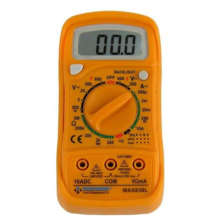 - Northern Tool MAS830L AC DC 600V Digital Pocket Multimeter Voltage Tester