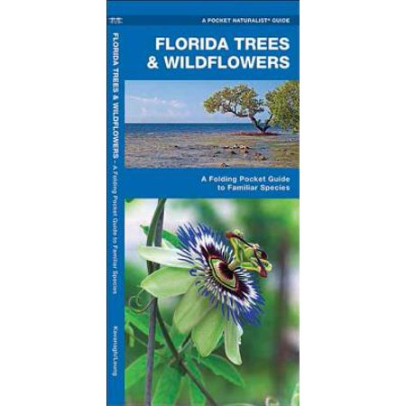 State Nature Guides: Florida Trees & Wildflowers: A Folding Pocket Guide to Familiar Species (Paperback) - Florida State Wildflower
