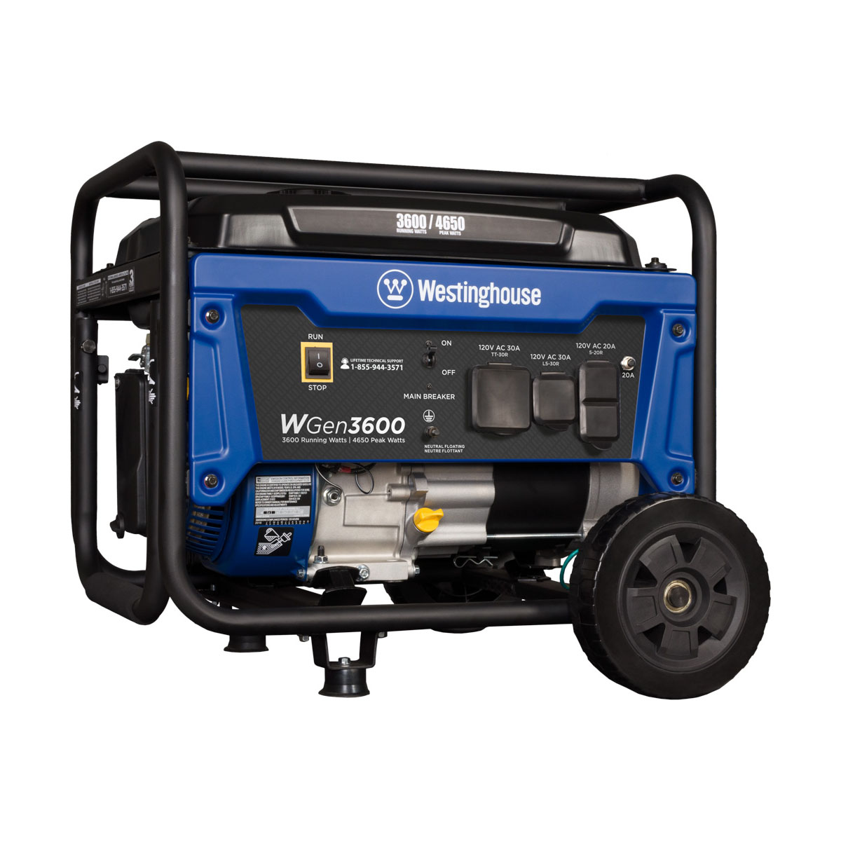 Westinghouse WGen3600 Gas Powered Portable Generator