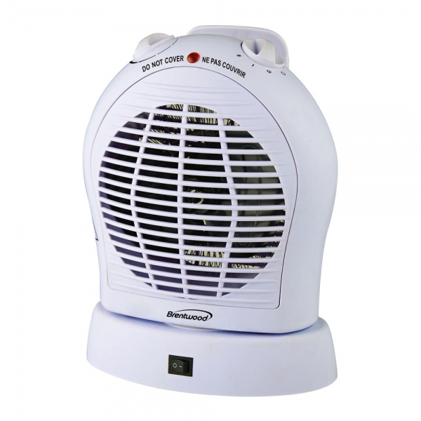 Brentwood Appliances HF303W Brentwood 2-in-1 Heater/fan White