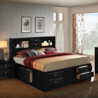 Roundhill Furniture Blemerey Storage Platform Bed