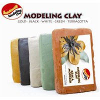 Air Dry Premium Modeling Clay 3.3 lb (1.5 kg) Terracotta