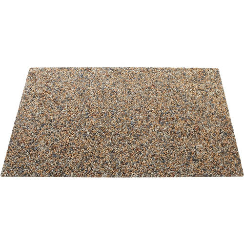 Rubbermaid Commercial Landmark Series Stone River Rock Panel, 4 count