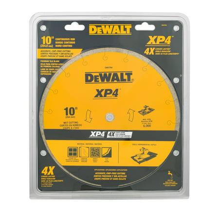 DeWalt Continuous Rim Premium Tile Blade 10u0022, 1.0 CT
