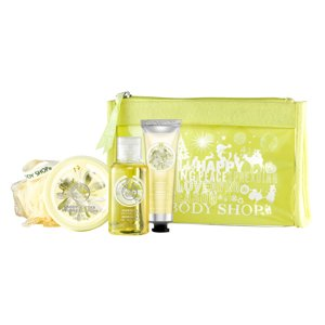 The Body Shop Moringa Beauty Bag 5 Pieces