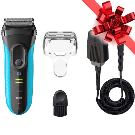 Braun Series 3 ProSkin 3040s ($5 Coupon Eligible) Wet&Dry Electric Shaver for Men / Rechargeable Electric Razor, Blue