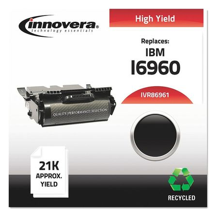 Innovera Remanufactured 75P6961 Laser Black Toner Cartridge