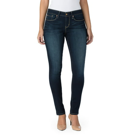 Signature by Levi Strauss & Co. Women's Modern Skinny (Shoes To Wear With Light Blue Jeans)