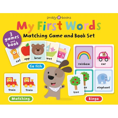 My First Words Matching Game and Book Se (Board (Took The Words Right Out Of My Mouth)