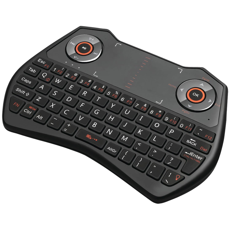 Adesso WKB-4020UB SlimTouch 4020 2.4GHz Wireless Keyboard with Touchpad