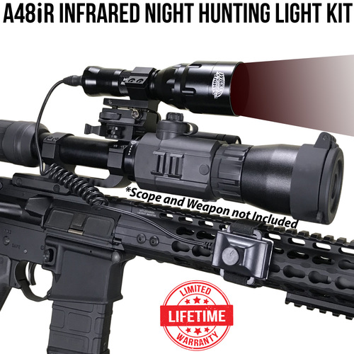 Wicked Lights A48iR Infrared LED Night Hunting Light Kit