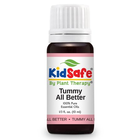 Plant Therapy KidSafe Tummy All Better Synergy Essential Oil 10 mL (1/3 oz)