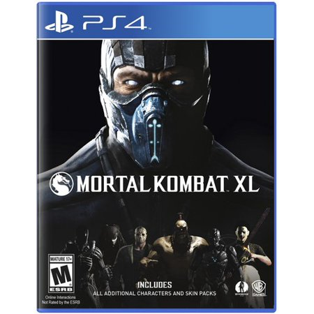 Mortal Kombat XL, Warner Bros, PlayStation 4, 883929527458 for $<!---->