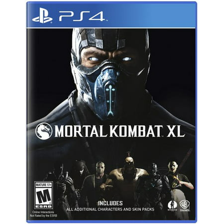 Mortal Kombat XL, Warner Bros, PlayStation 4, 883929527458