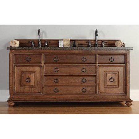 James martin furniture james martin brown 72 inch double bathroom vanity for 70 inch double bathroom vanity