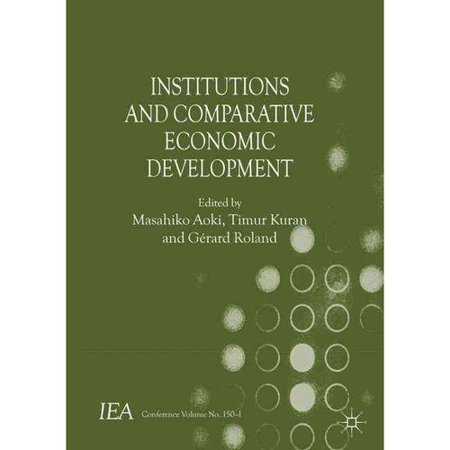 Institutions and Comparative Economic Development by