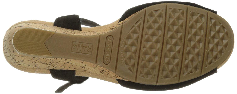Aerosoles Womens Cupake Leather Open Toe Casual Slingback Sandals by Aerosoles