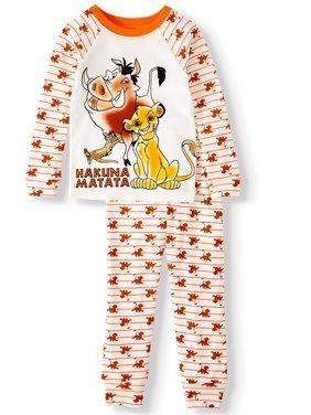 Lion King Toddler Boys? Long Sleeve Cotton Pajamas, 2-Piece Set