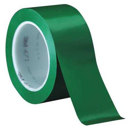 3M 471 Marking Tape,3/4In W,108 ft. L,4-3/8In D 471 Marking Tape