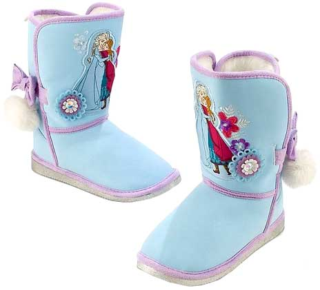 Disney Frozen Anna and Elsa Exclusive Winter Boots [US Size 9]