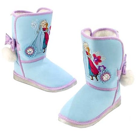 Disney Frozen Anna and Elsa Exclusive Winter Boots [US Size 9] (Frozen Boots)
