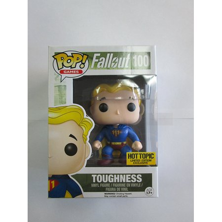 Fallout Toughness Vault Boy Hot Topic Exclusive POP! Vinyl Figure](Fall Out Boy Simpsons)