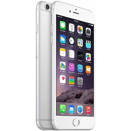 Straight Talk Apple iPhone 6 Plus 16GB Prepaid Smartphone, Silver by Apple
