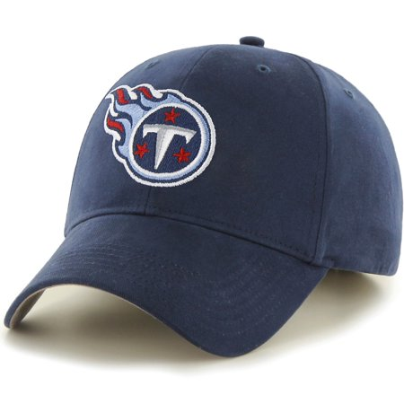 Men's Fan Favorite Navy Tennessee Titans Mass Basic Adjustable Hat - - Tennessee Top Hat
