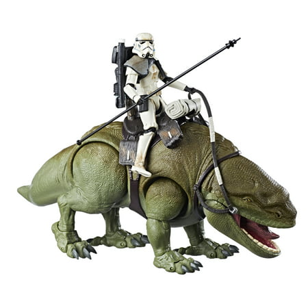 Star Wars The Black Series Dewback and Sandtrooper (Star Wars Dog Accessories)