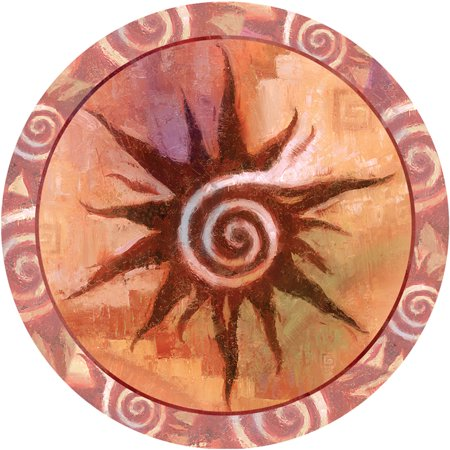 Sun Spiral (Thirstystone Occasions Drink Coasters, Spiral Sun )