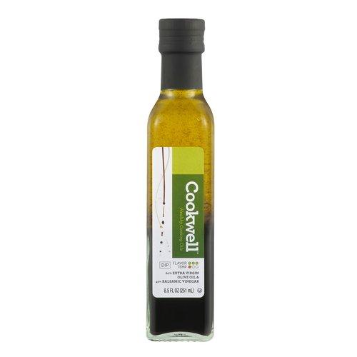 Cookwell Extra Virgin Olive Oil & Balsamic Vinegar, 8.5 fl oz