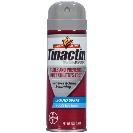 (6 Pack) Tinactin Athlete's Foot Antifungal Treatment Liquid Spray, 5.3 oz